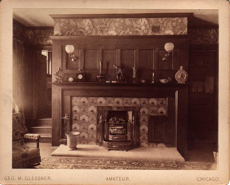 Master bedroom, c. 1888