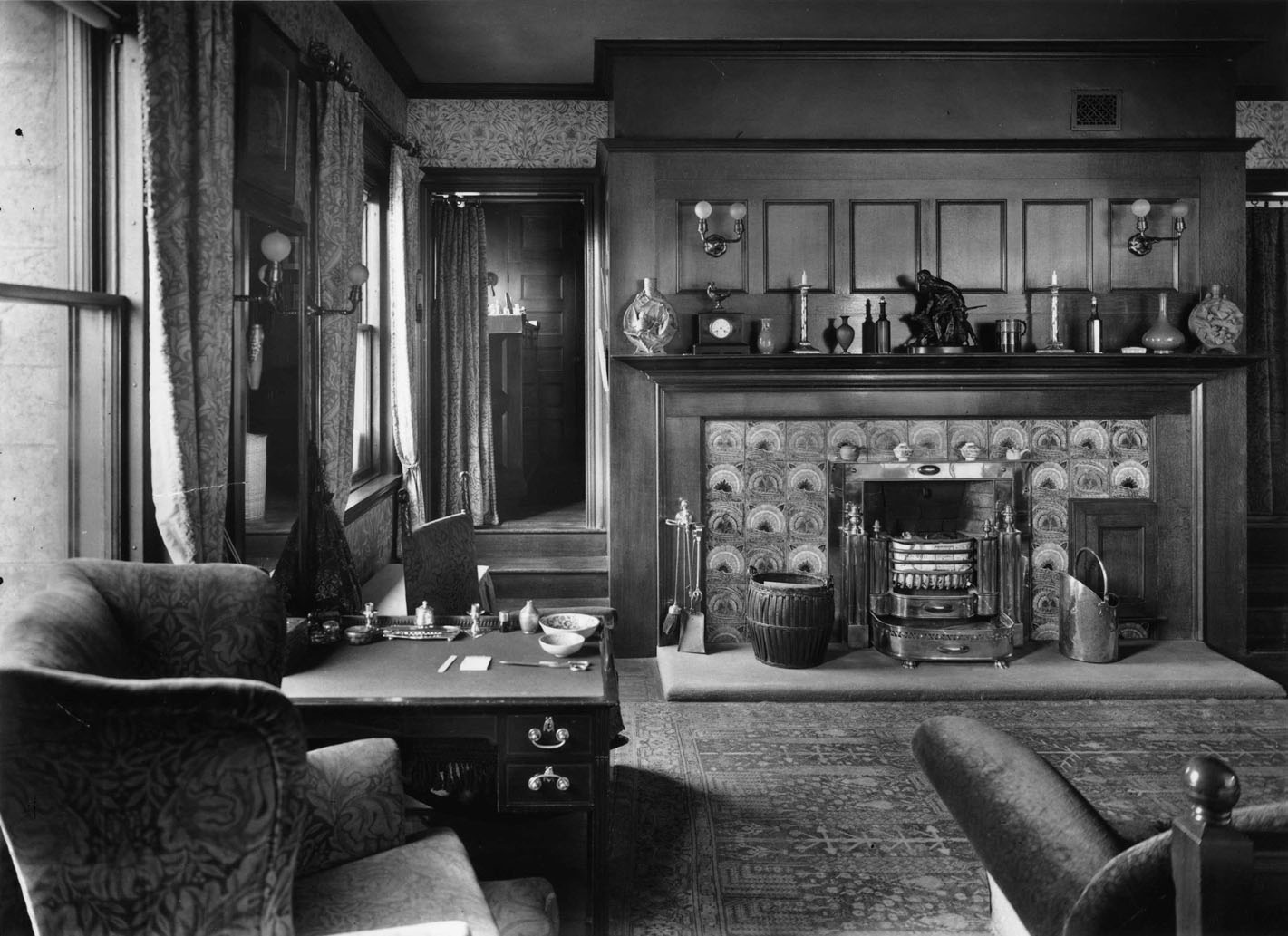 Master bedroom, 1923