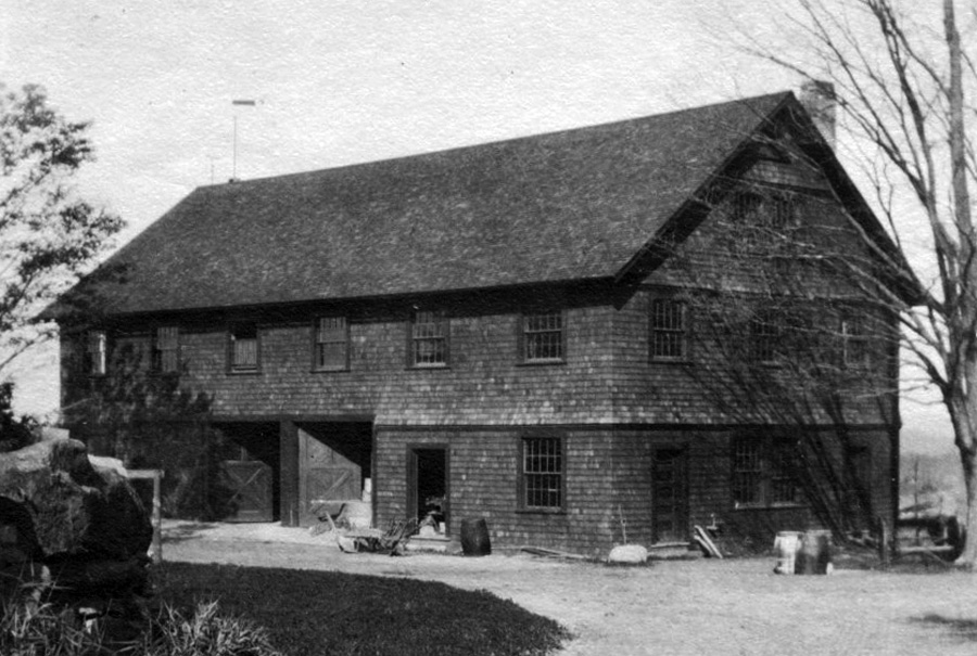 Tool building, front, circa 1904