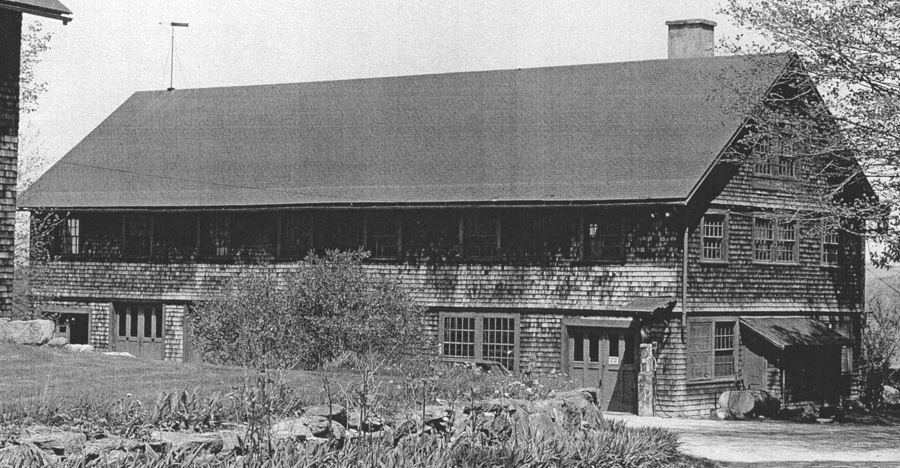 Tool Building in 1978, showing the bay added in 1907 at right