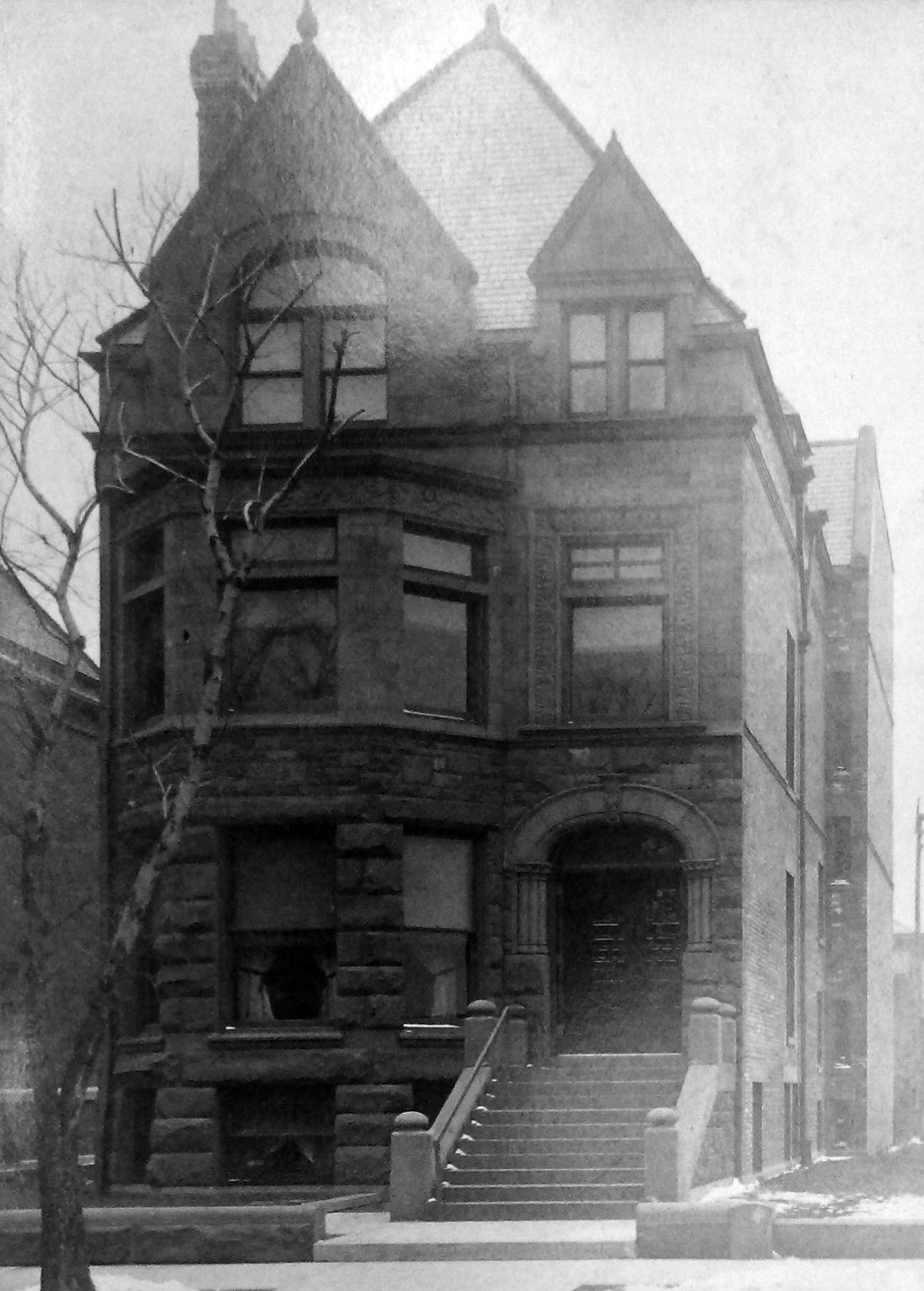 Shaw house, 2124 S. Calumet Avenue