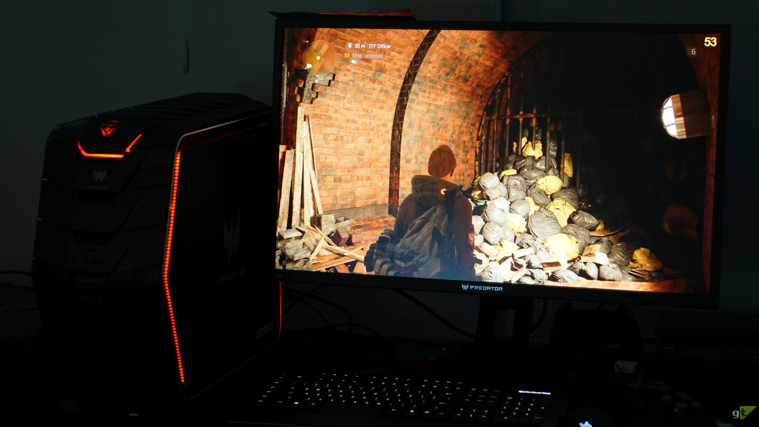 The Division was rocking on this build but struggling at 30 FPS in some areas at 4K..