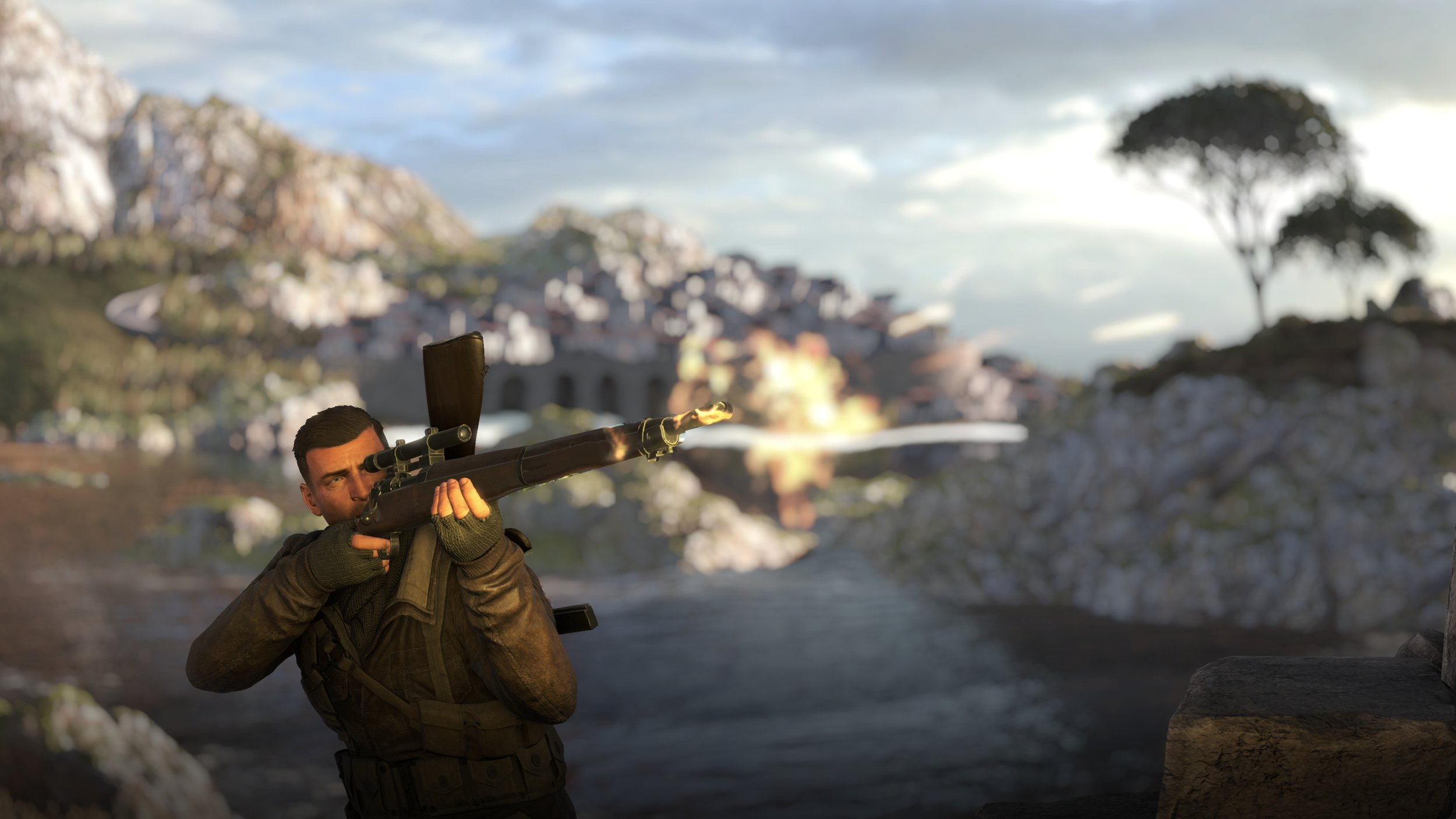 You haven't heard stunning sound until you pair SNIPER ELITE 4 with a solid set of speakers and a quality sub.
