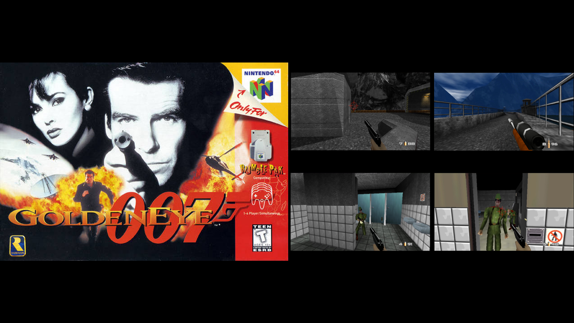 Retro Review: GOLDENEYE 007