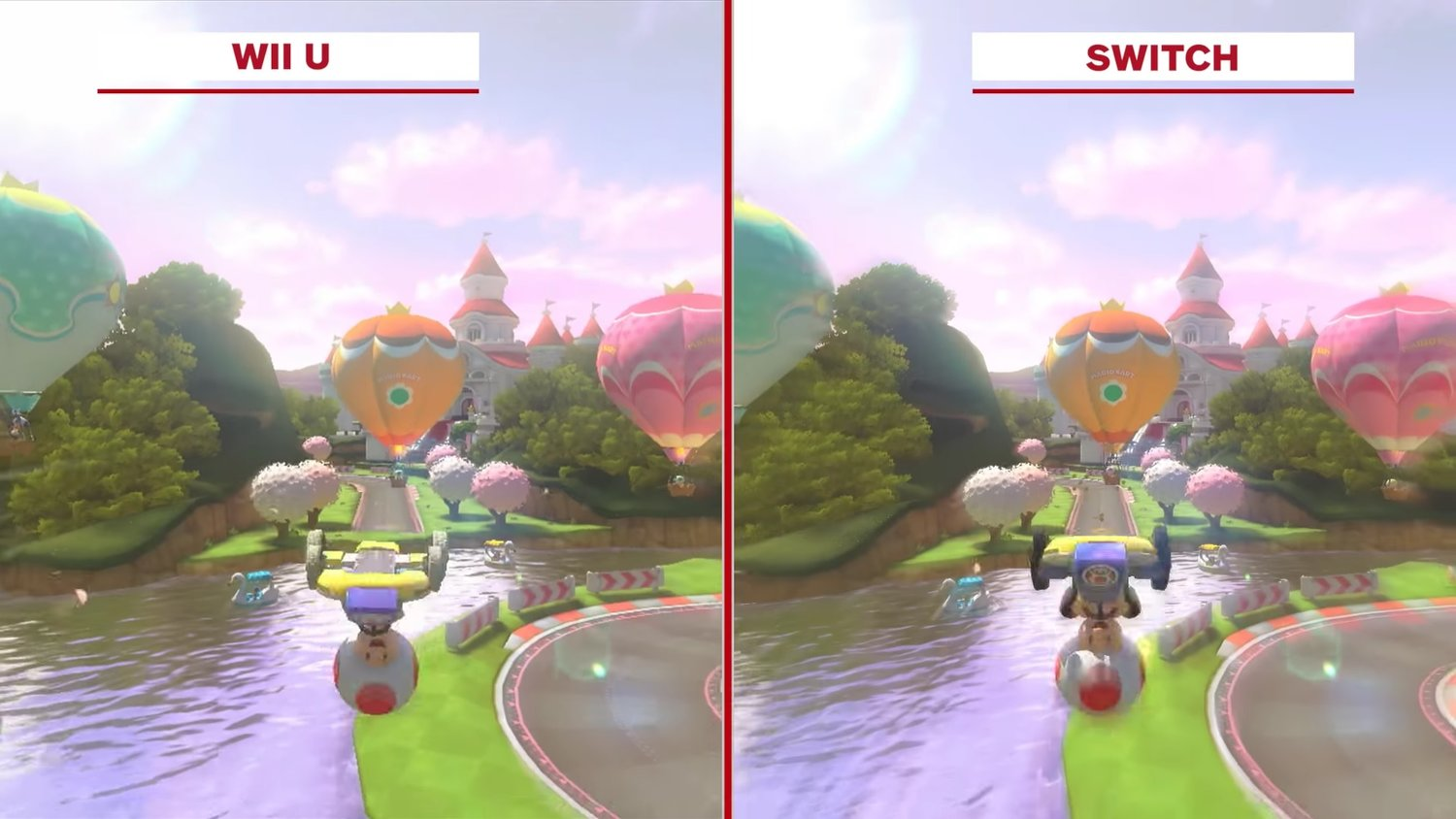 Take A Look At Mario Kart Deluxe On Wii U And Switch