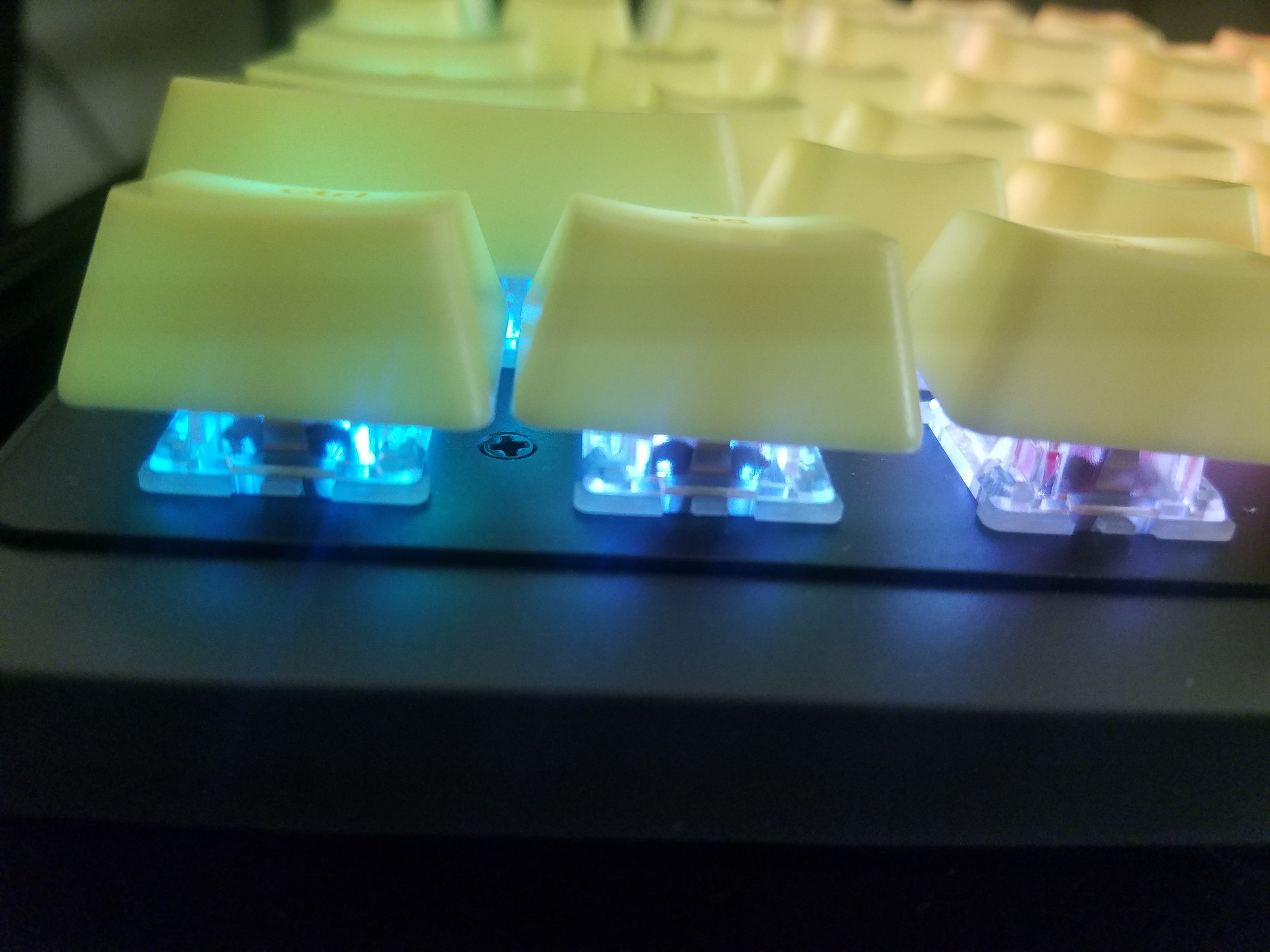 A small taste to what can be done with the RGB backlighting
