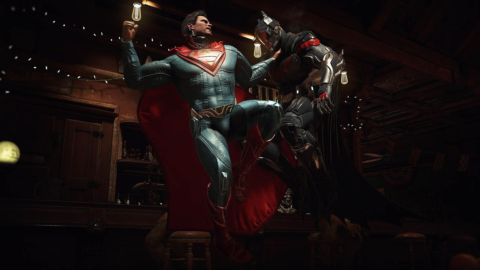 There's incredibly detailed fighting sequences in the game which will excite the comic book fan