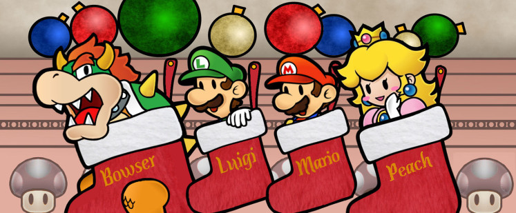 The Holidays are a time for giving, sharing and playing Festive themed Games!