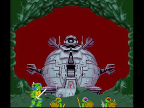 The Technodrome Level was an exclusive additional level for the SNES