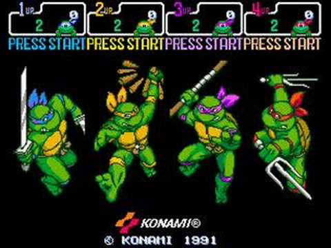 Each Turtle had a different attack style and special move set