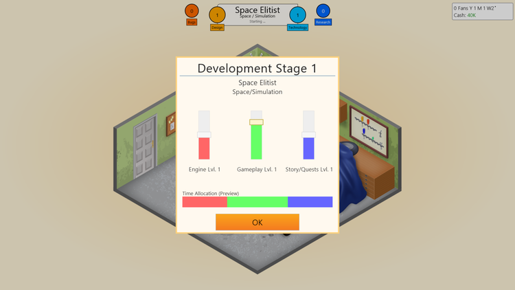 Easy to understand sliders help you make your decisions in intuitive UI