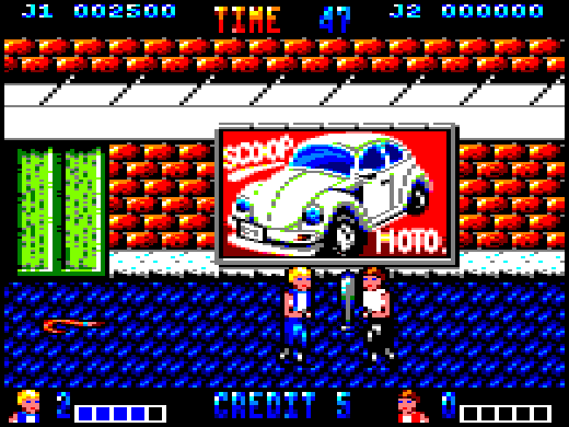 This is the one I played - the Amstrad CPC version, colourful with decent hit detection.