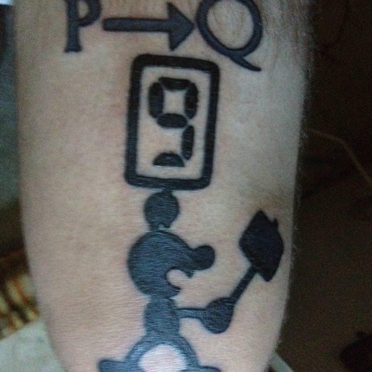 This tattoo belongs to Reddit user u/ElPanandero