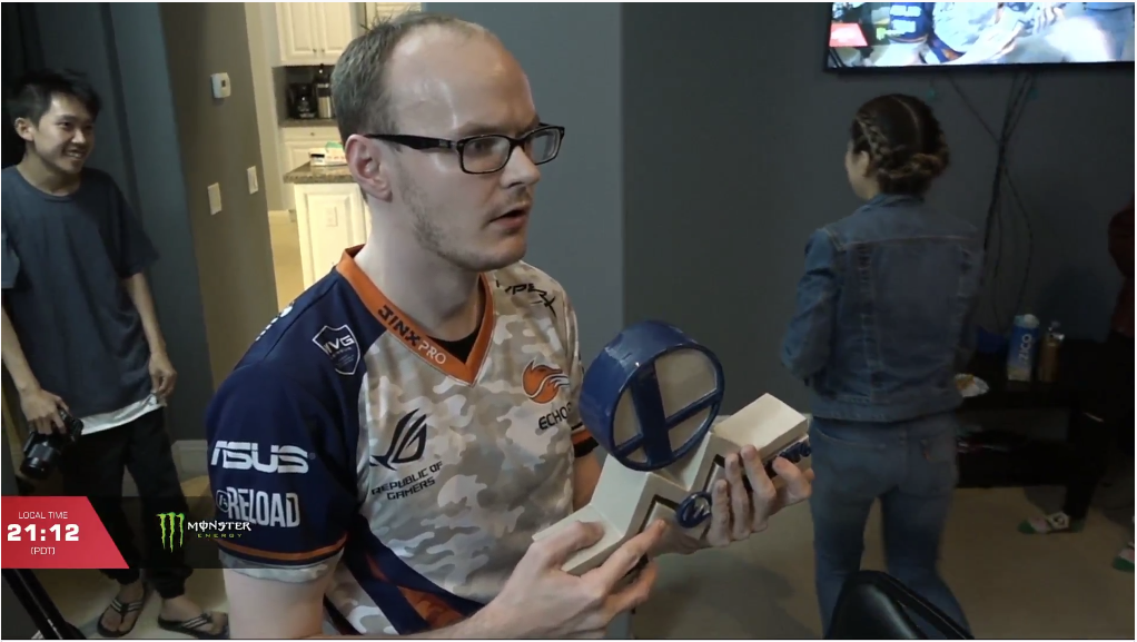 For several minutes, a dumbfounded Mew2King was unable to process his own victory.