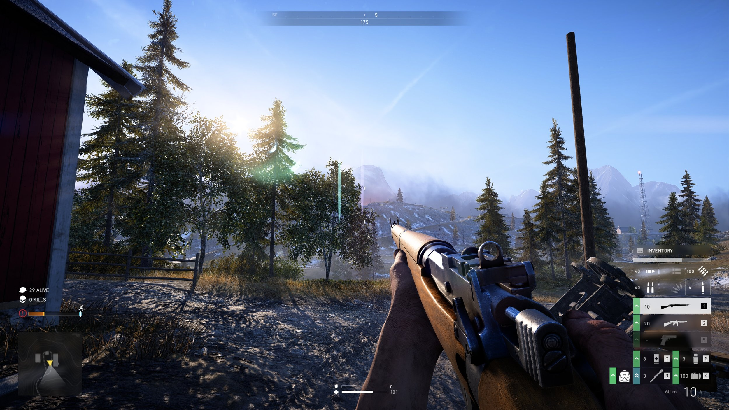 Ahhh… this is the most sunny, peaceful Battle Royale I've experienced yet…