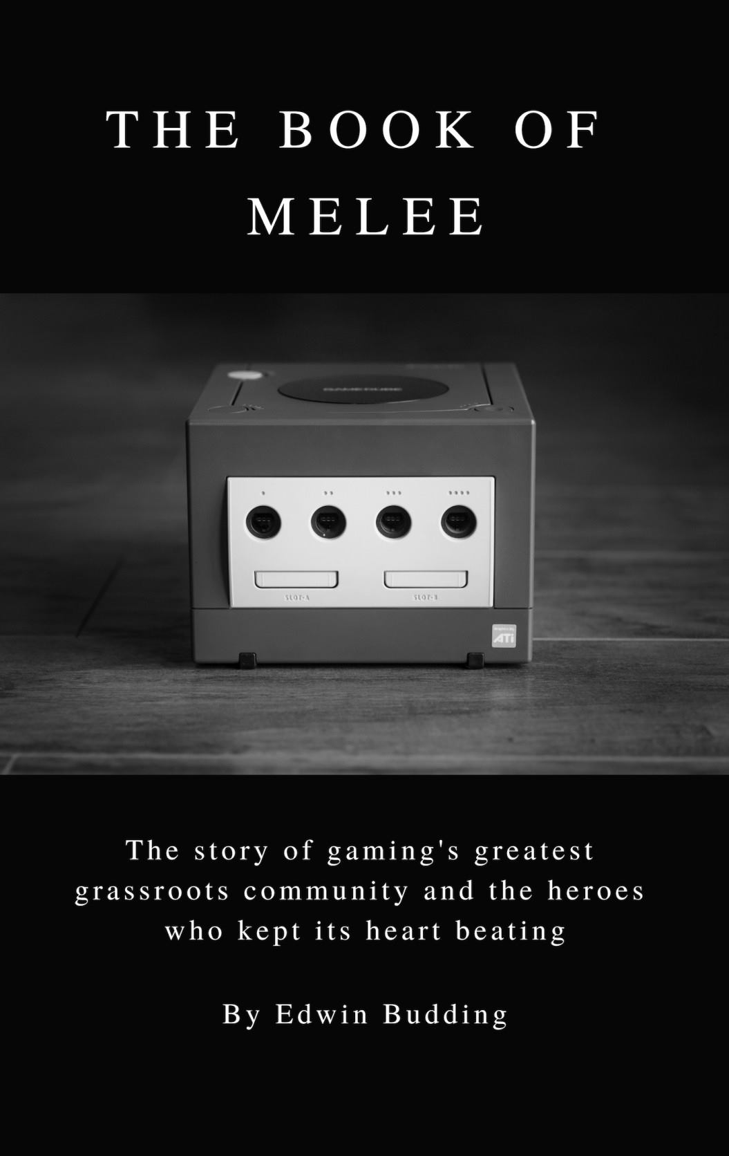 "A first look at the cover of ""The Book of Melee."""