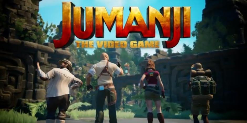 JUMANJI Video Game Teaser Reveals Launch Date And Platforms