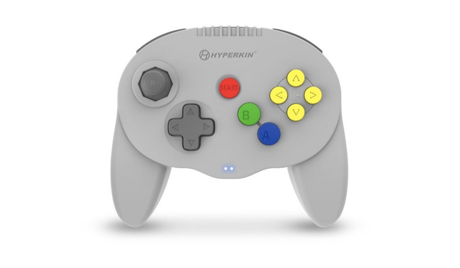 Hyperkin Wireless N64 Remote - grey