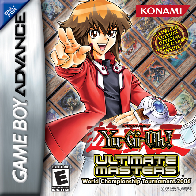 Yu-Gi-Oh Ultimate Masters: World Championship Tournament 2006  for Game Boy Advance