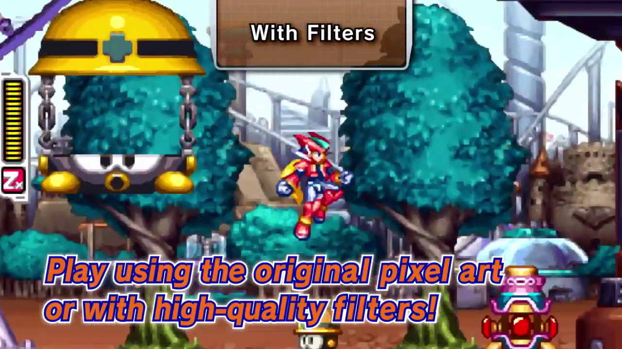 Mega Man ZX  in action!