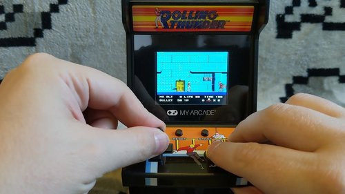 My Arcade BUBBLE BOBBLE Pocket Player And ROLLING THUNDER