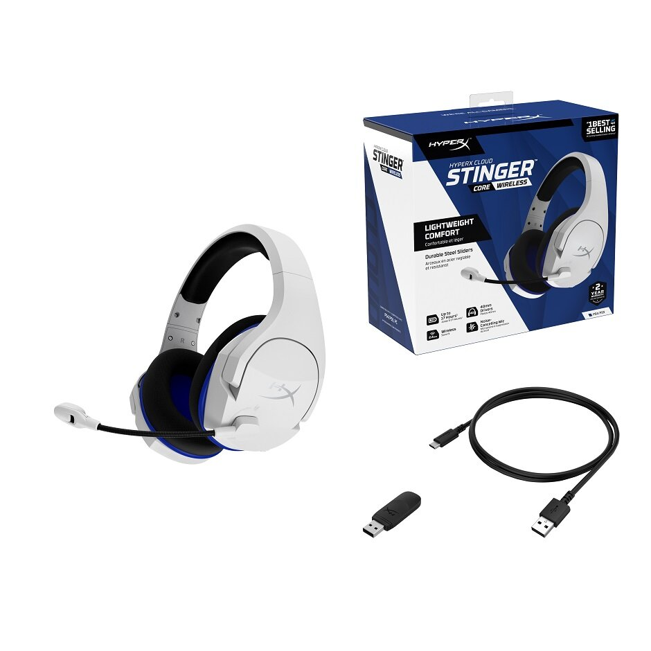 Hyperx Has Just Released A New Sleek Looking 2 4 Ghz Wireless Headset For Ps4 Pc Gametyrant