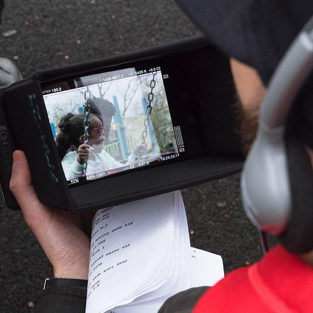 Script ➡️ screen. You spend a lot of time looking at little screens on the way to a bigger one. 🎥⏳📺🎧☔️