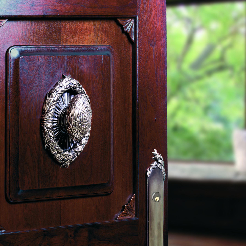 Unique exterior  door pull Willow
