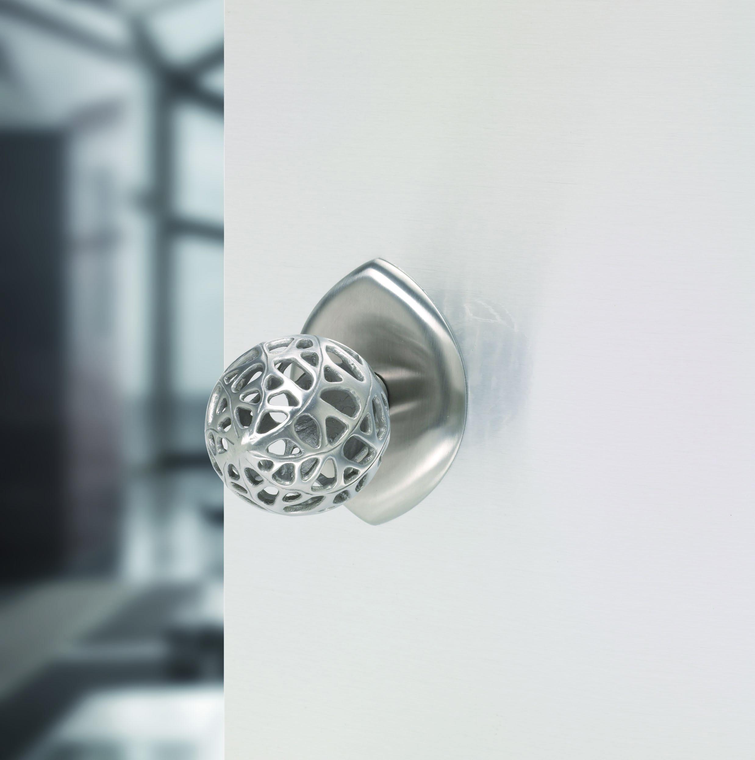 Contemporary interior door knob Morphic