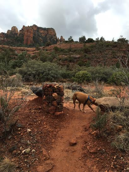 Wagon Trail in Sedona Arizona.  Photo by Martin Pierce Hardware, Los Angeles CA