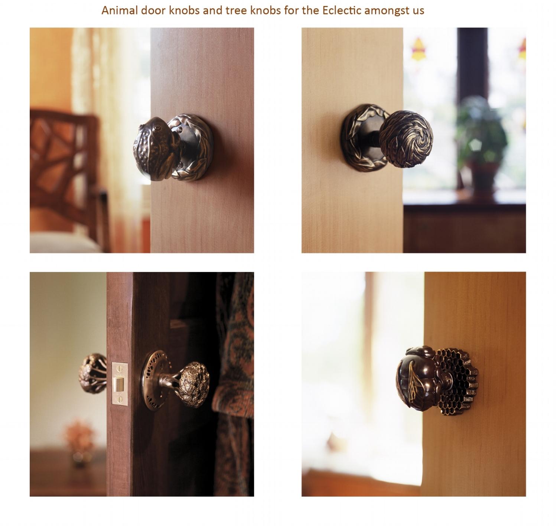 Interior And Exterior Door Knob Sets