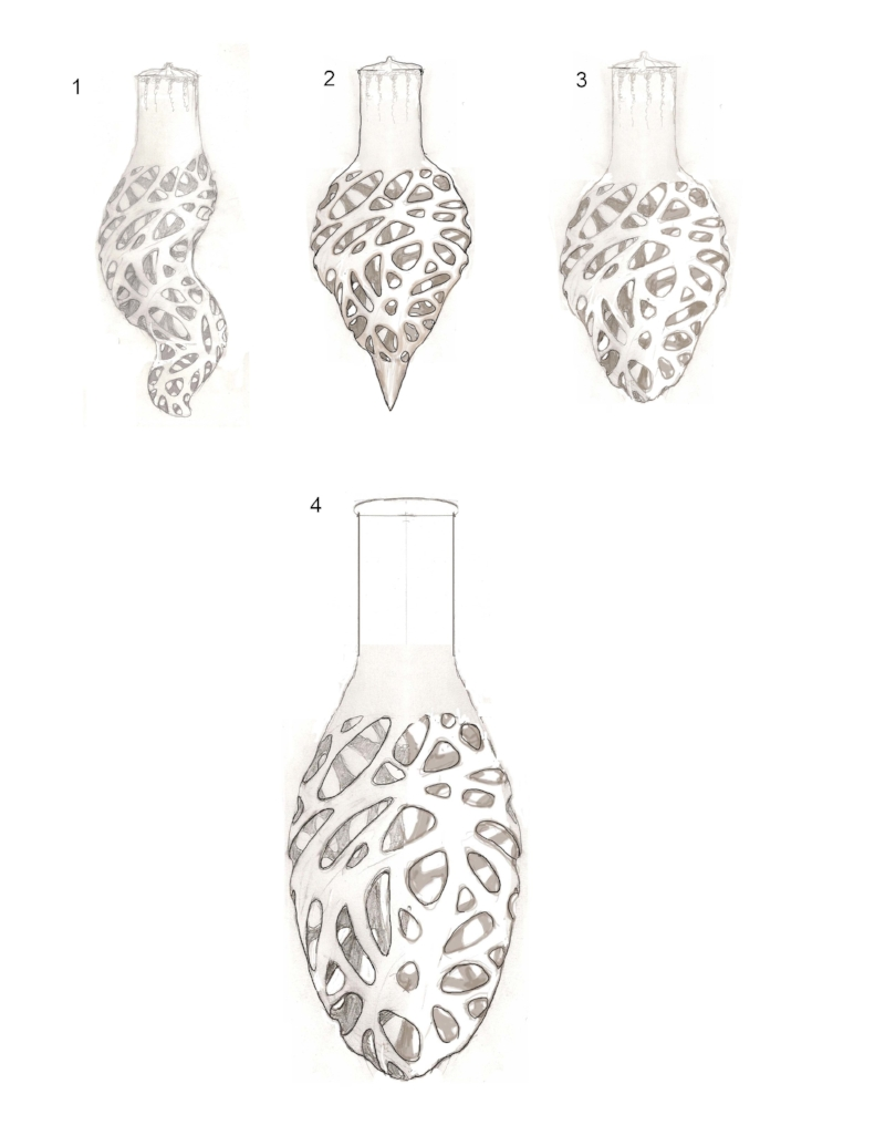 Wall Sconce Drawings Copyright Martin Pierce