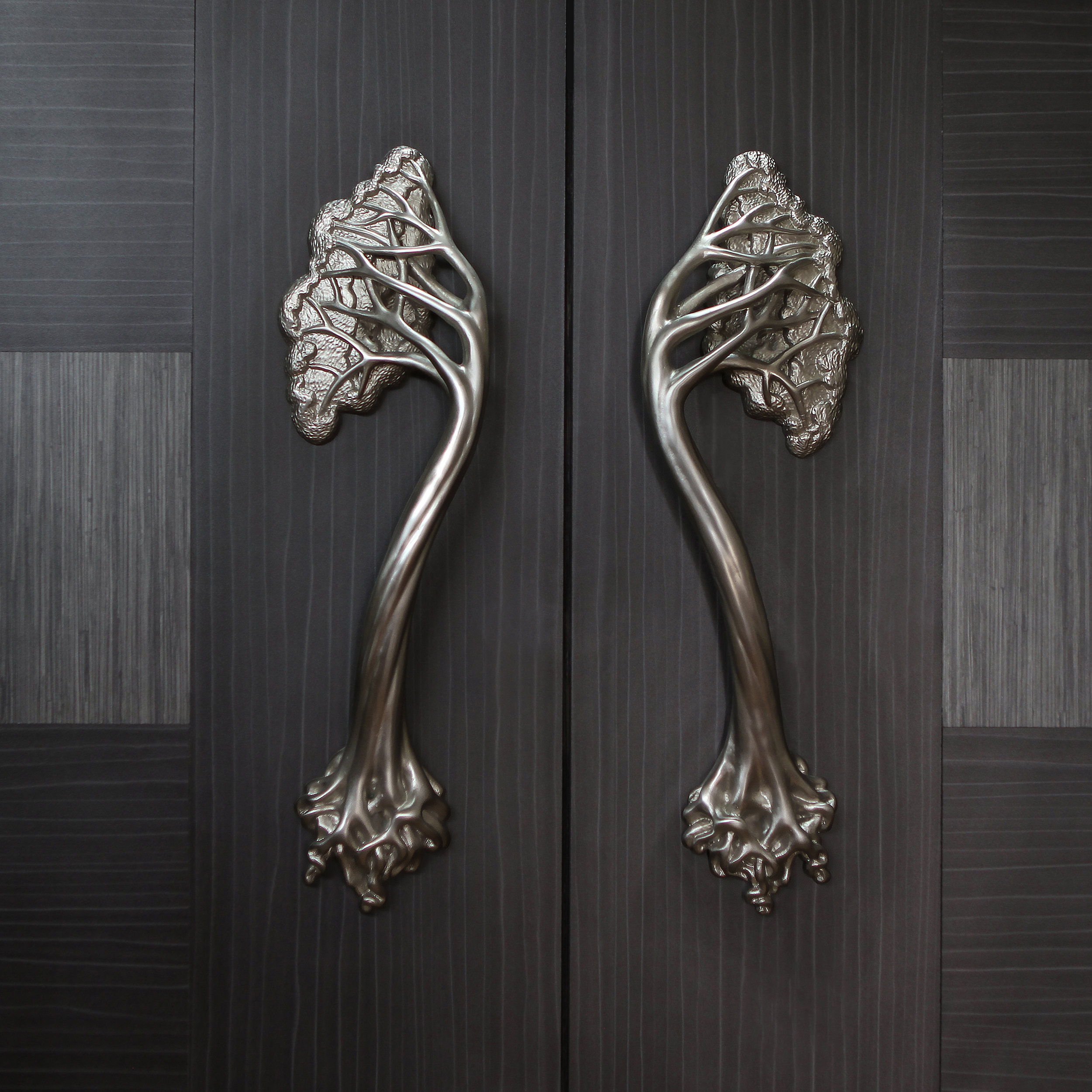 Tree Door Handle A Signature Piece in the Hedgerow Collection