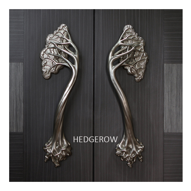 Unique door handle tree style