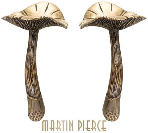 Mushroom Cabinet Pull