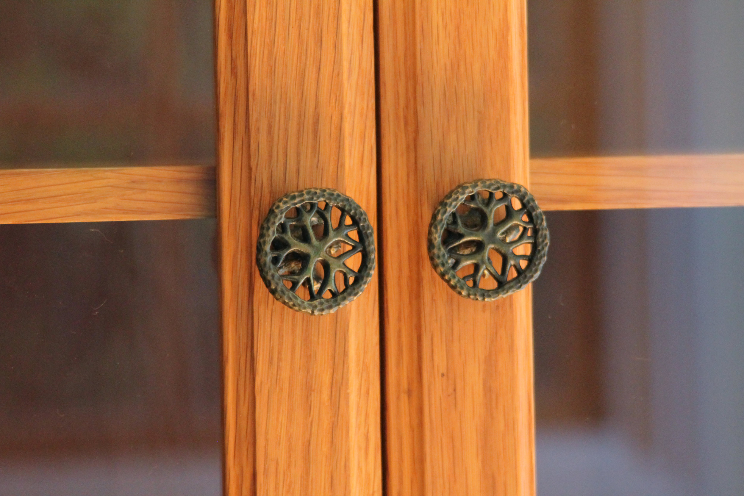 Hedgerow Tree Round Cabinet Pull