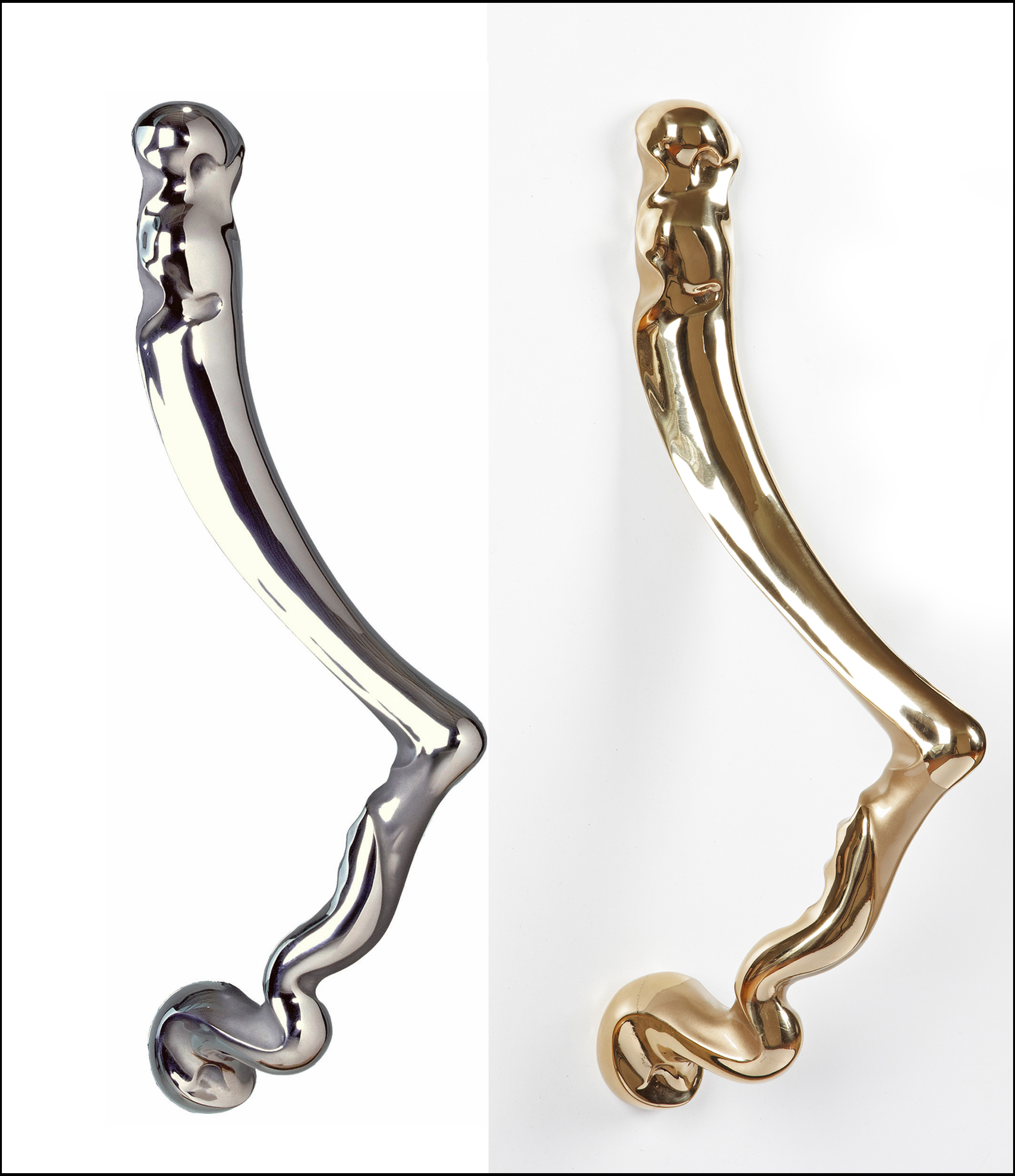 Modern Door Pulls began with our Ergo Collection