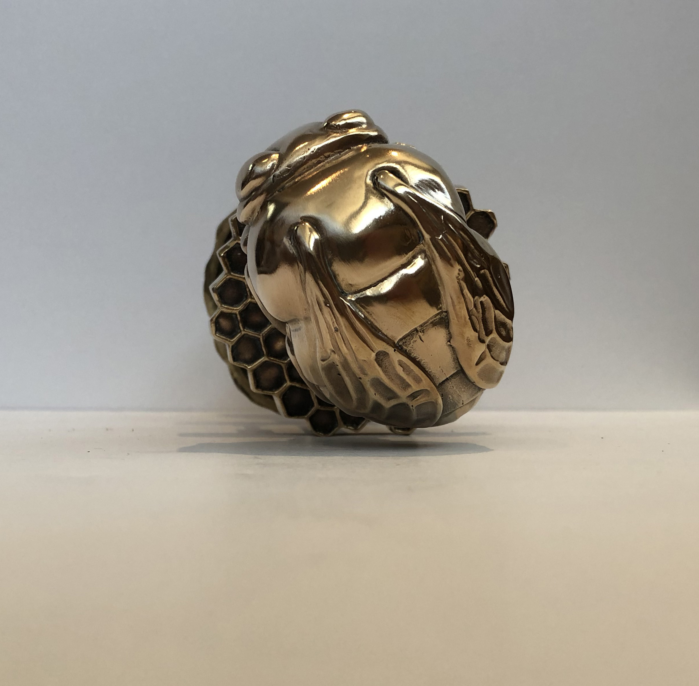 Center piece in our Netsuke collection of animal knobs
