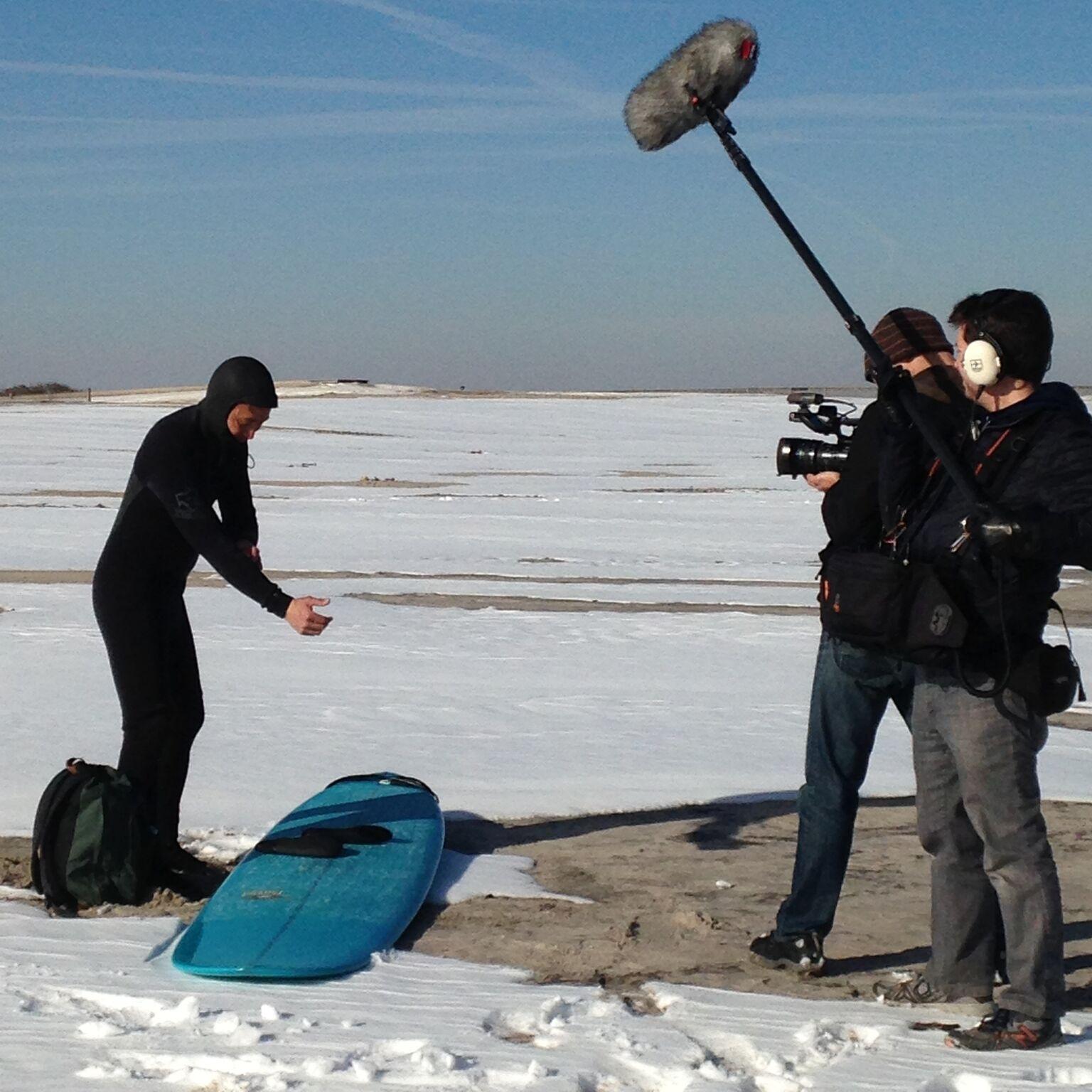 Maryland shoot, Paul Takemoto winter surfing