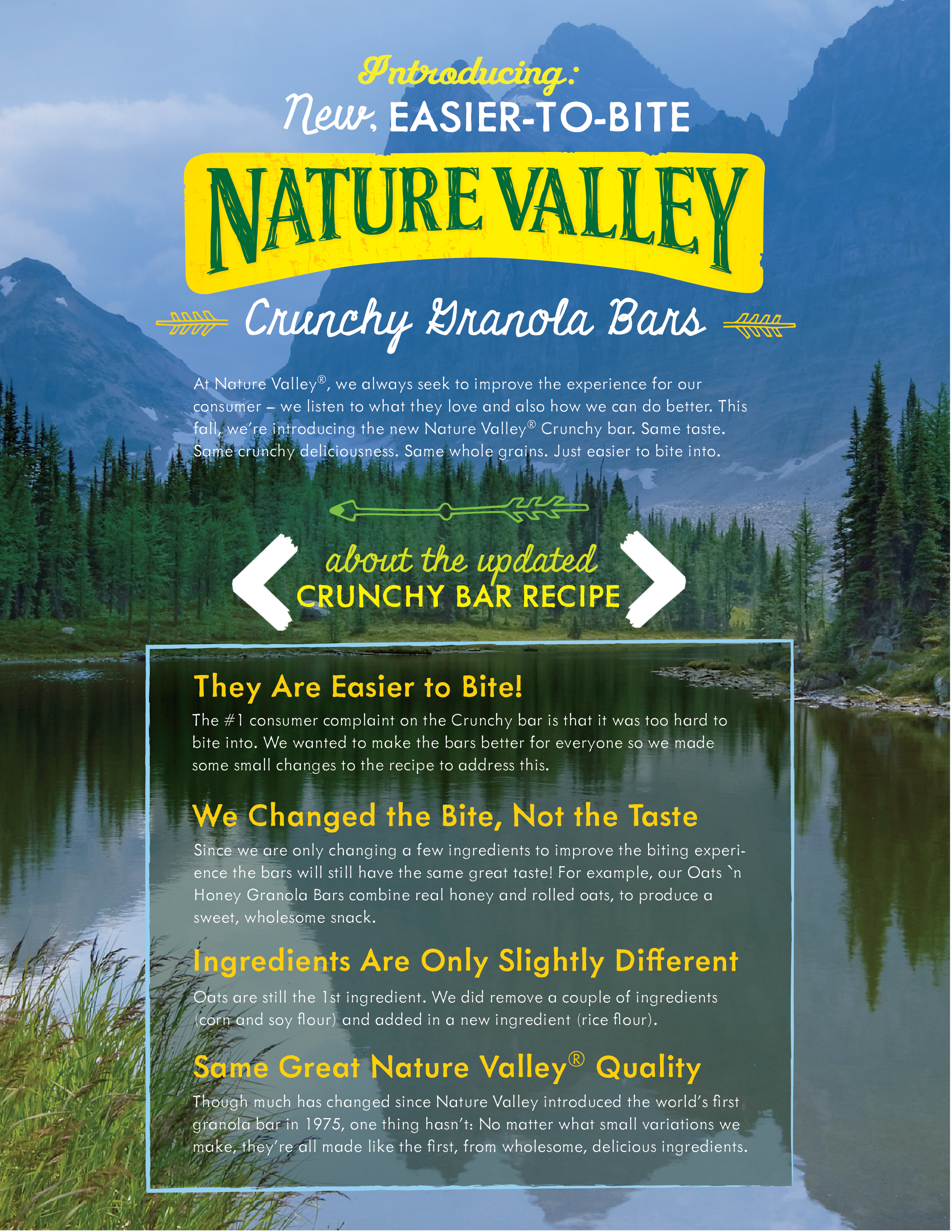 Nature Valley- Product Relaunch