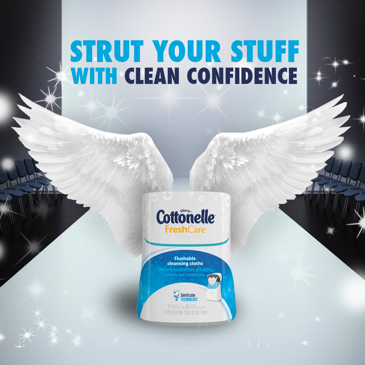 Cottonelle- Real Time Post for Victoria's Secret Show