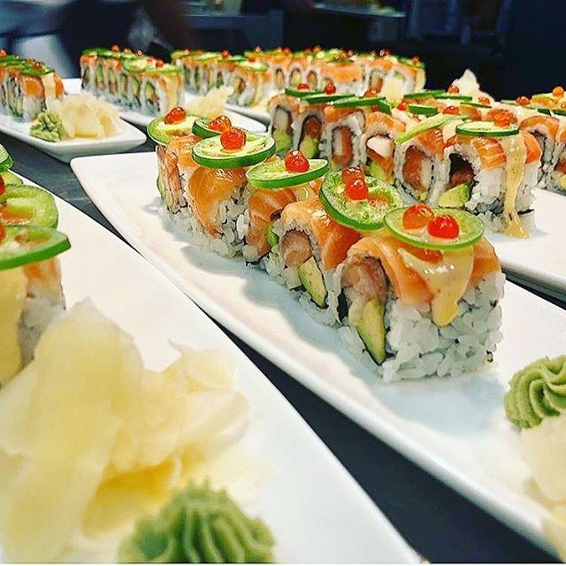 Sushi anyone ?