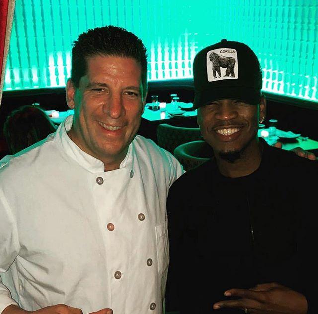 @chefdaver with @neyo #AndItsAllBecauseOfYou 🔥