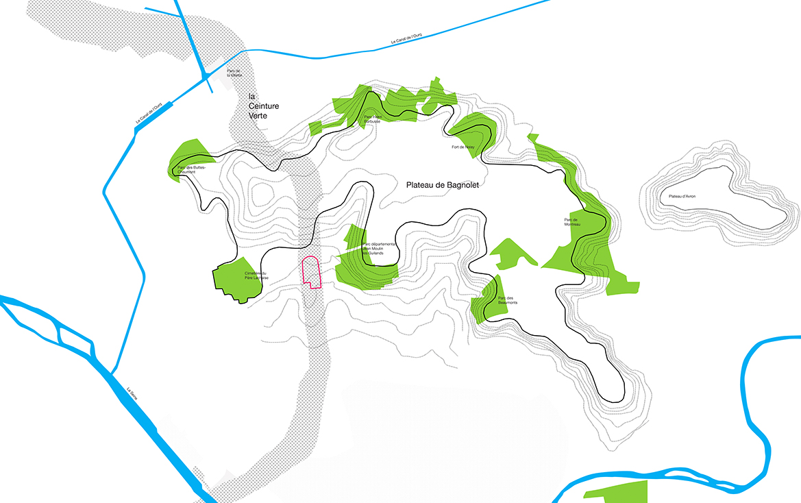 Un site inscrit dans une géographie