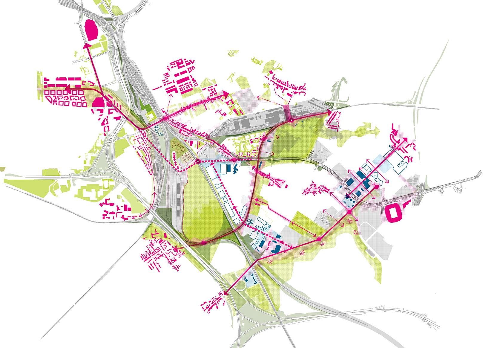 Master Plan du quadrant sud est de la Métropole Européenne de Lille