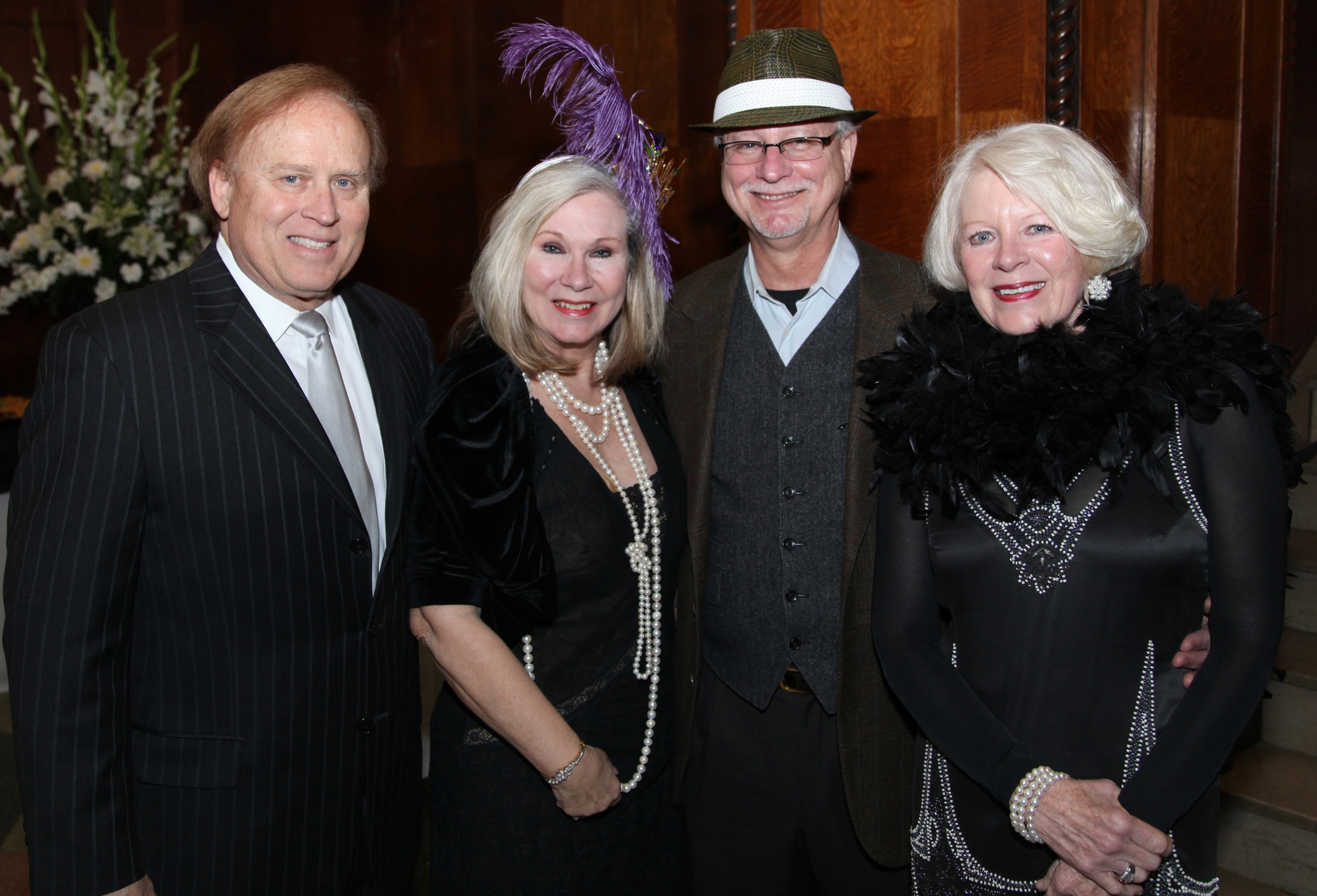 Jay & Kathy Louviere, Bill & Nelda Cox