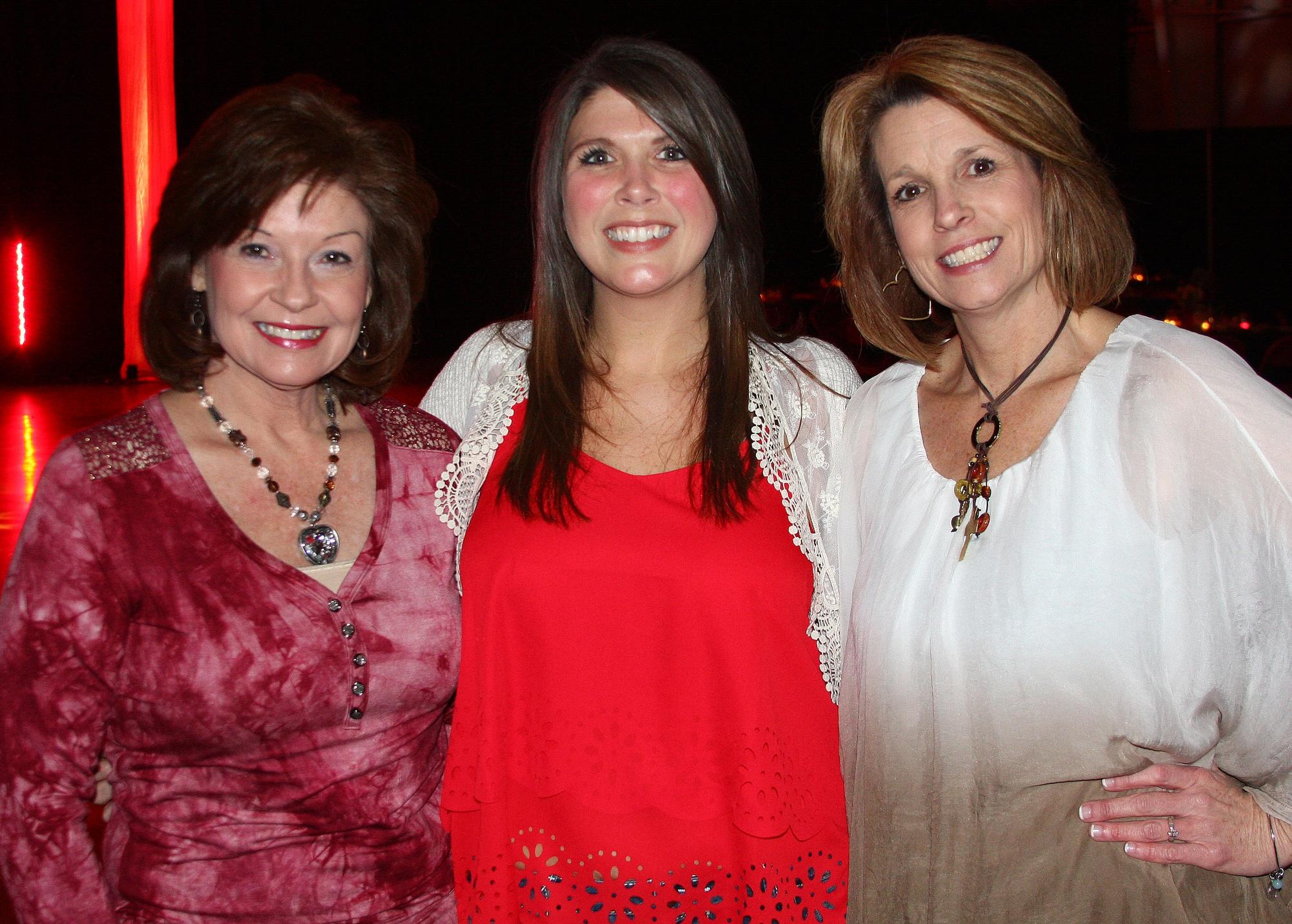 Judy Arrington, Emily Garner & Tammy Hardee