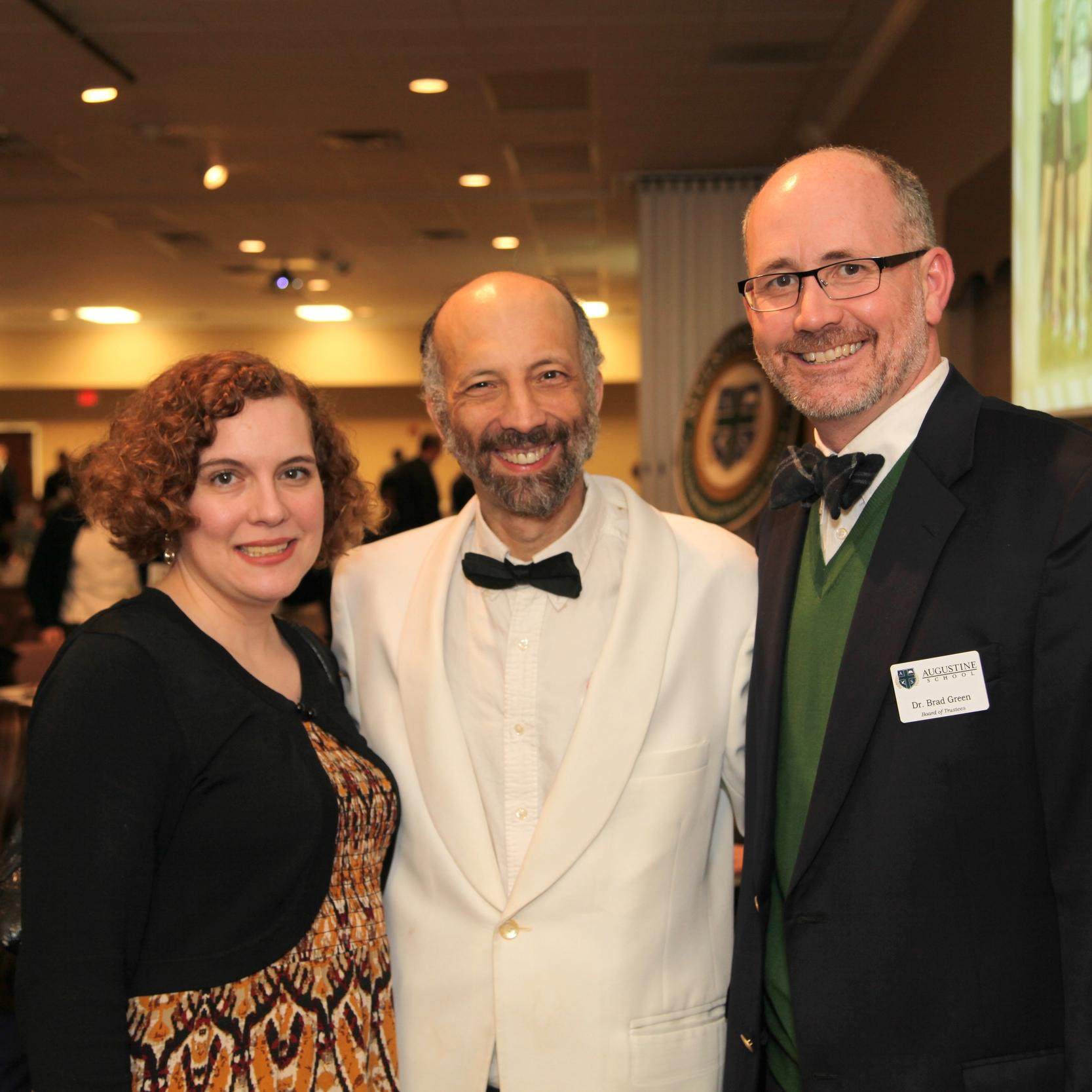 Dr. Janna Chance, Dr. Louis Markos & Dr. Brad Green