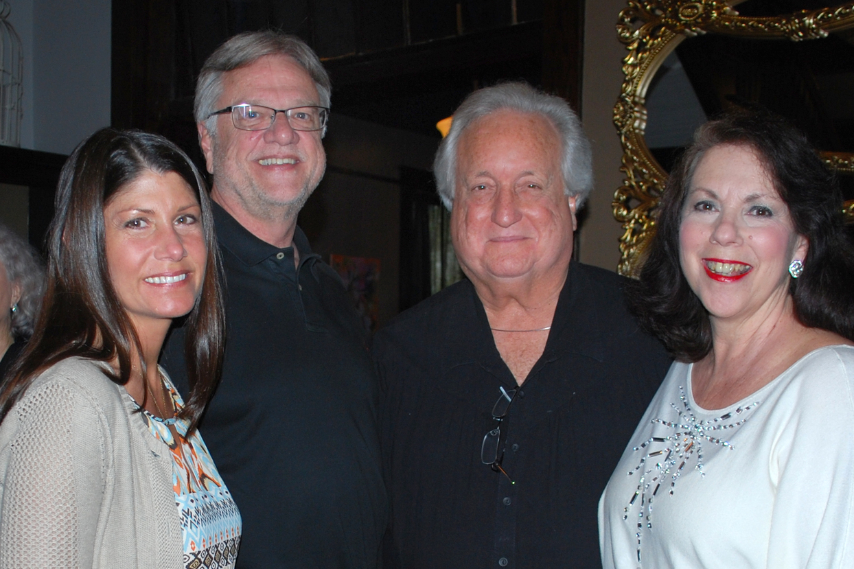 Leah Parrish, Bill Brewer, Dana Groff, Jr. & Amy Groff