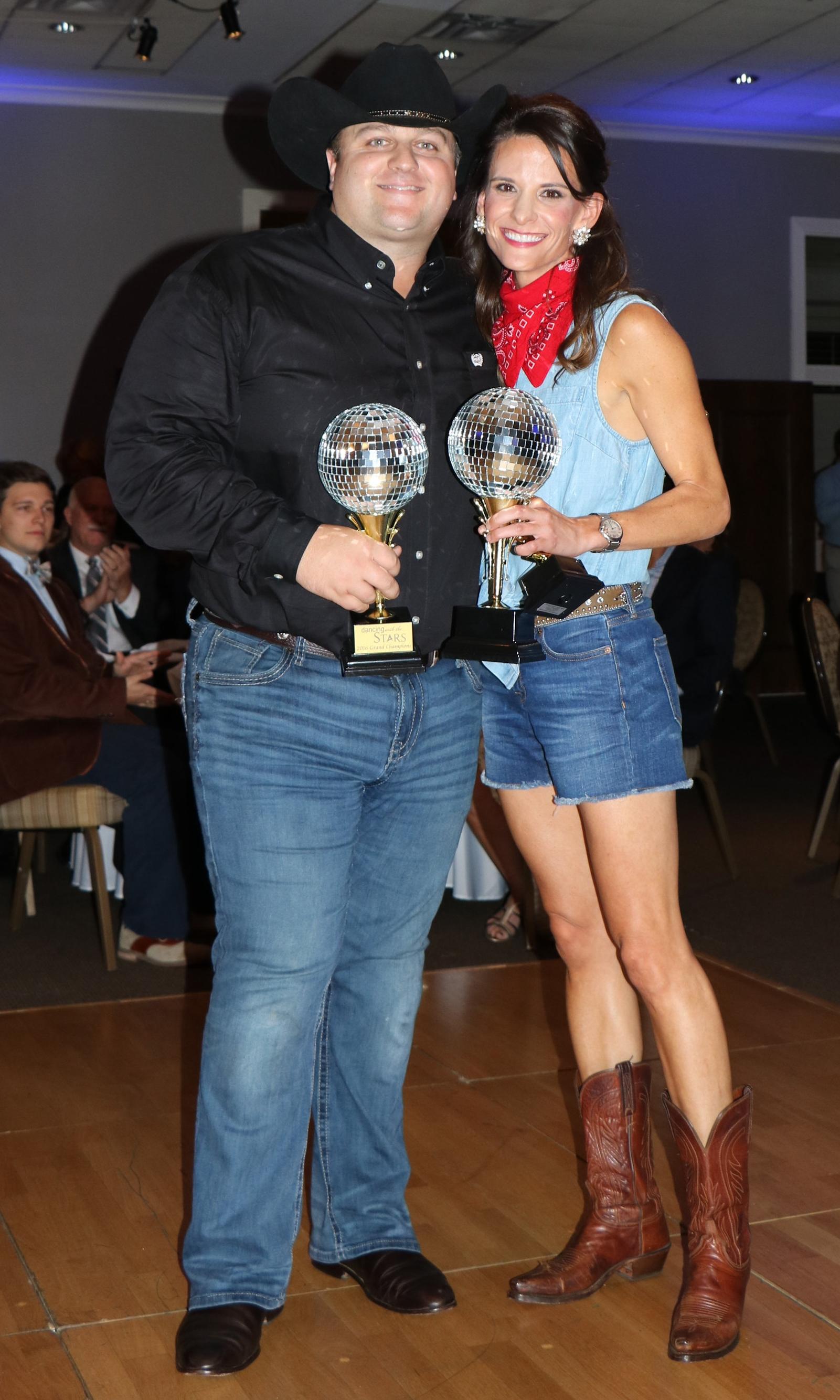 Winners Josh Allen & Blair Myers